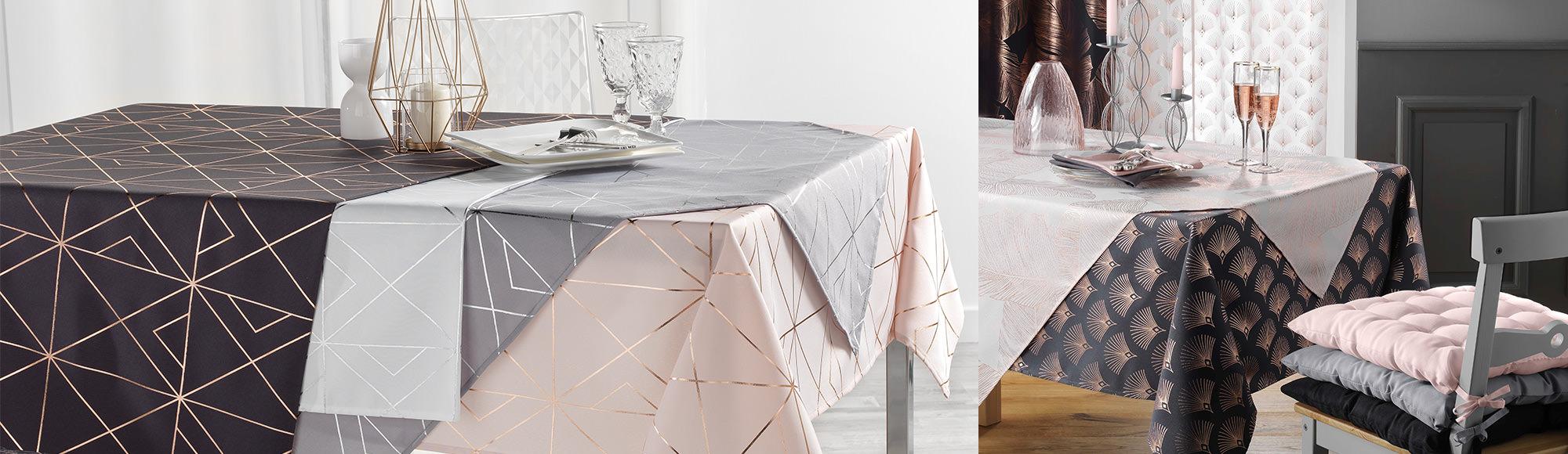 U10 - Douceur d'intérieur - Linge de table - Linge de maison - Nappes Goldy - Quadris