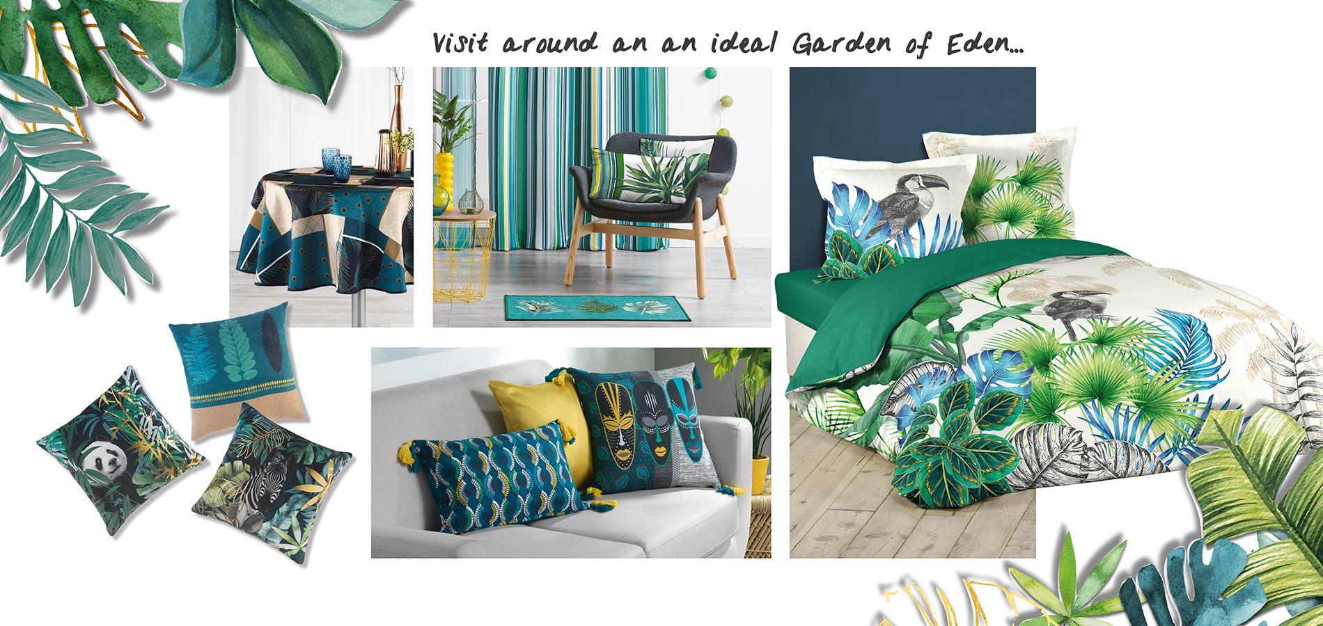 U10 - Douceur d'intérieur - 2019 Trend - Vegetal - garden of eden