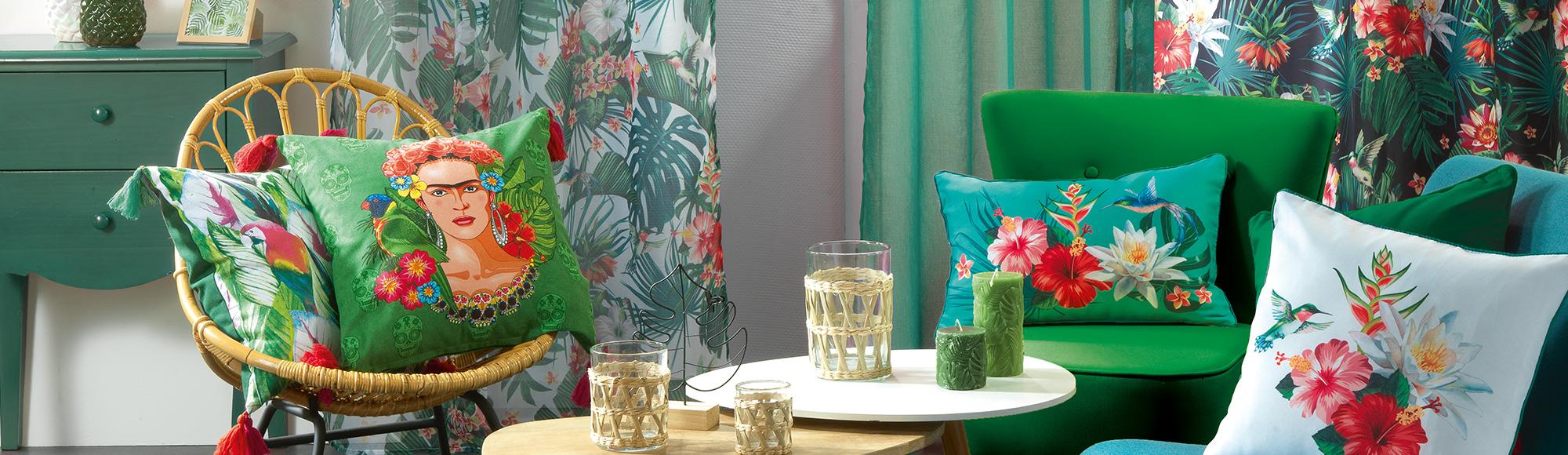 U10 - fournisseur en decoration - douceur d interieur - ameublement decoration - jardin exotique