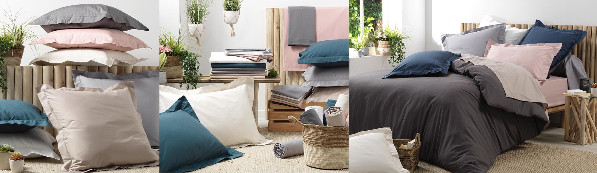 U10 - fournisseur en decoration - douceur d interieur - linge de lit - percale