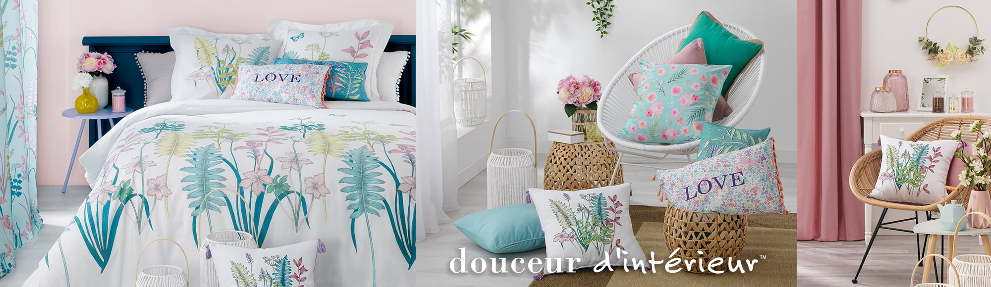 ecoration supplier_EN_douceur d interieur - bed linen soft furnishing decoration - fresh garden collection