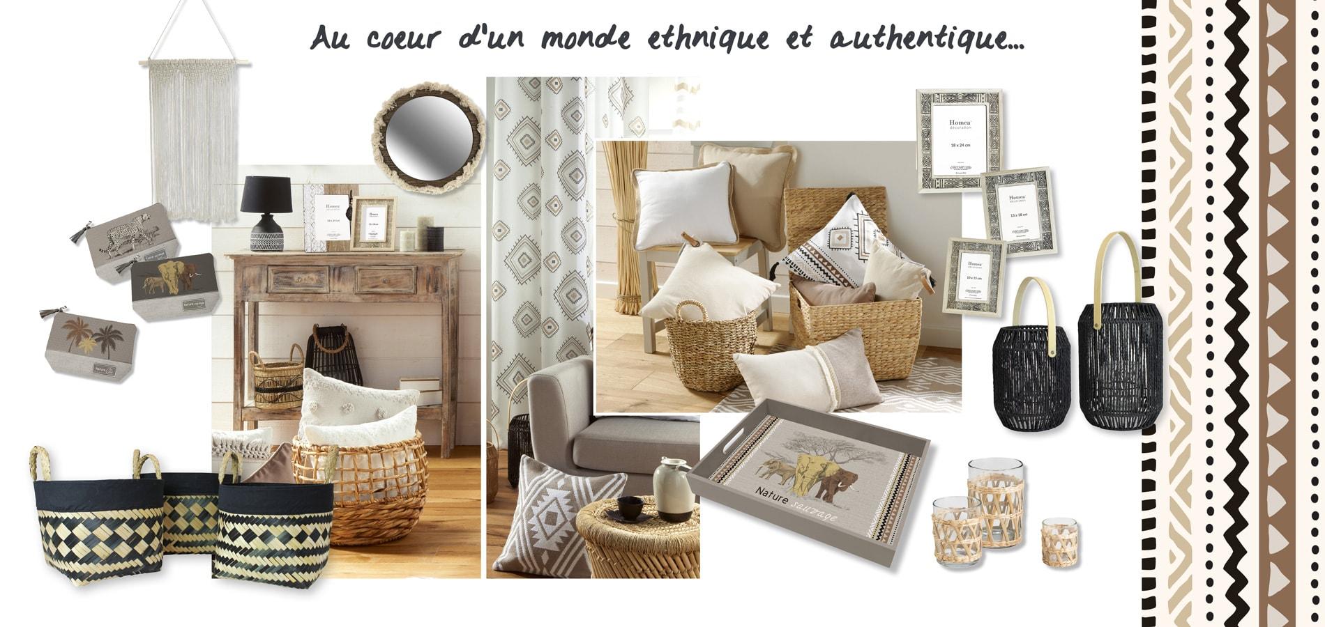 U10, fournisseur en decoration d'interieur - Homea, article de decoration - tendance ethnique - theme voyage berbere, horizon lointain