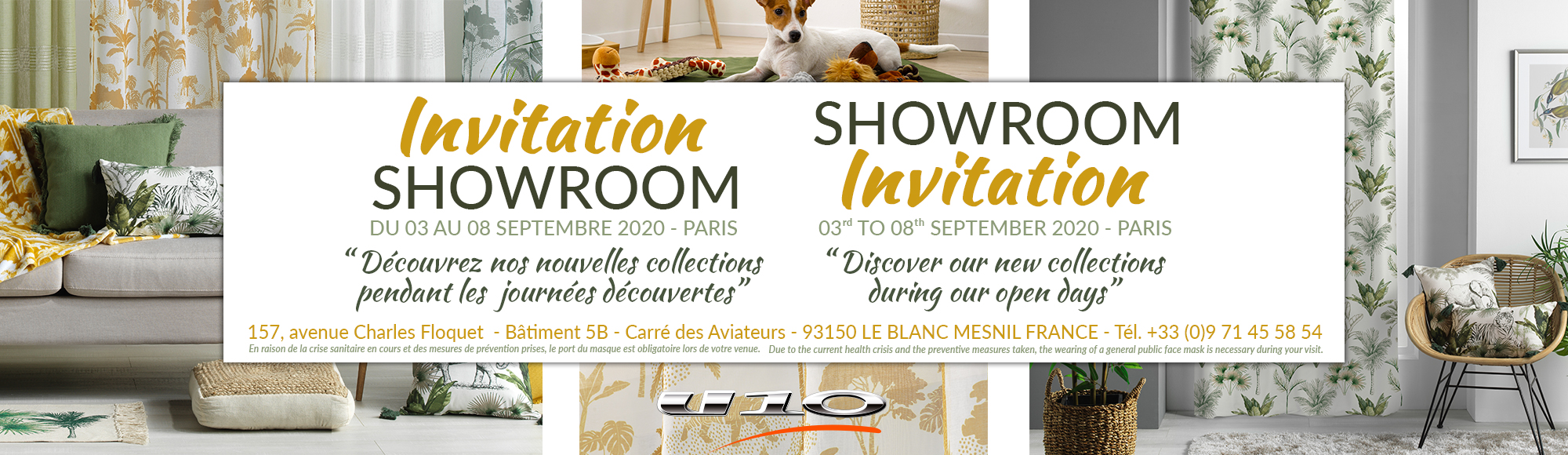 U10 - Fournisseur en decoration d'interieur - invitation showroom paris sept 2020
