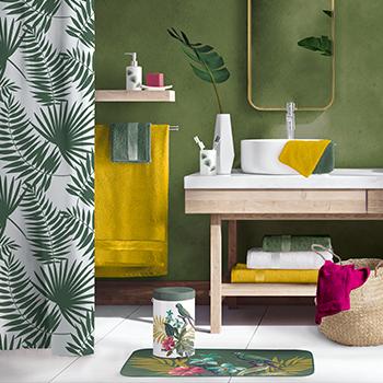 U10 - Fournisseur en decoration d'interieur - nouvelle collection 07 2020 - theme equatoria salle de bain