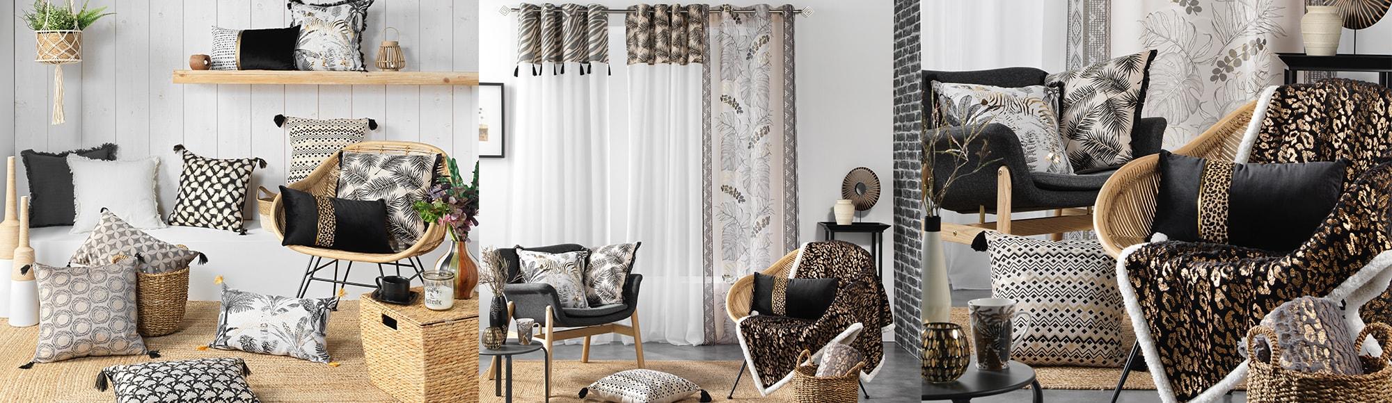 U10 - Fournisseur en décoration d'intérieur - marque douceur d'interieur - ameublement deco - theme urban safari