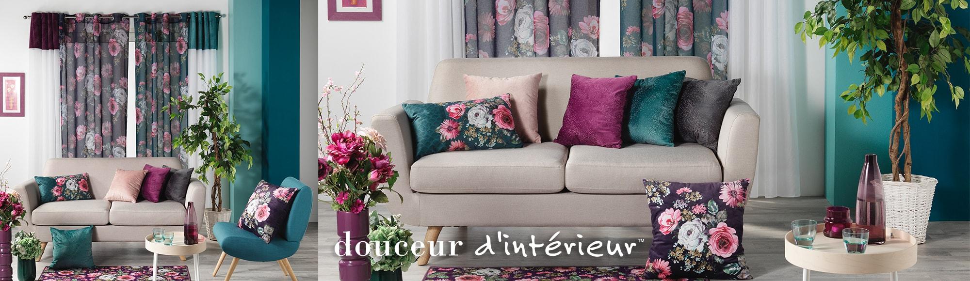 U10 - Fournisseur en décoration d'intérieur - marque douceur d'interieur - ameublement deco - theme flower life