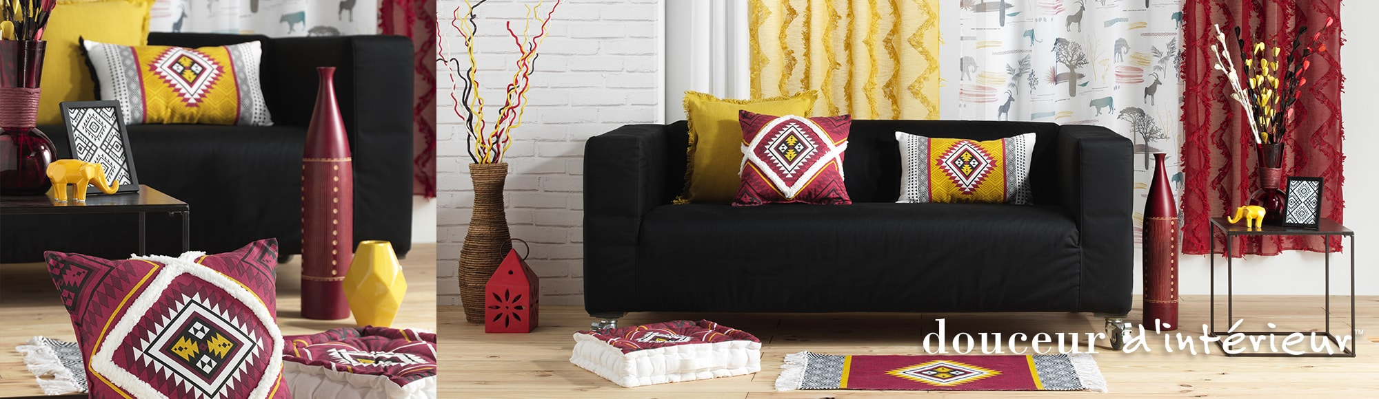 U10 - Fournisseur en décoration d'intérieur - marque douceur d'interieur - ameublement deco - theme neo berbere