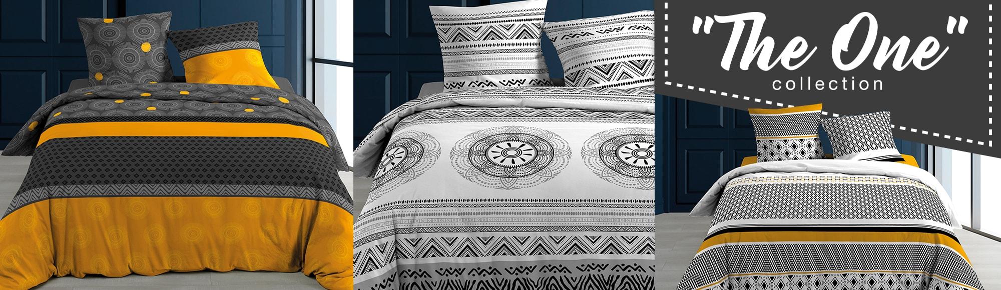 U10 - Fournisseur en décoration d'intérieur - marque douceur d'interieur - linge de lit - 57 fils - the one collection