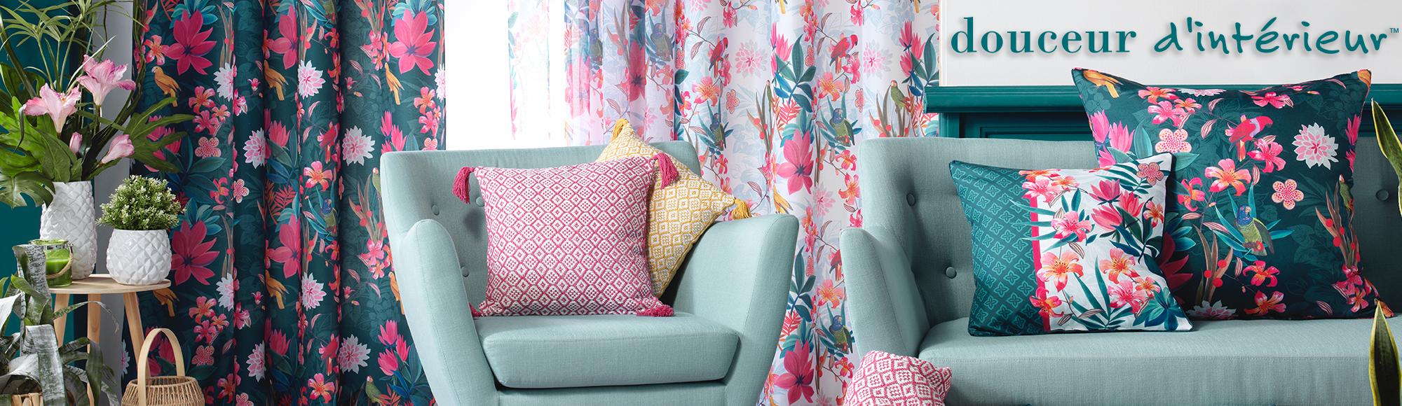 U10 - Fournisseur en décoration d'intérieur - marque douceur d'intérieur - ameublement - theme exotic paradise